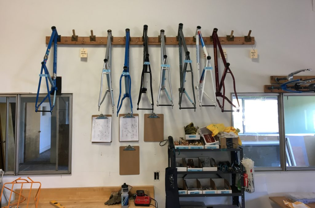 Breadwinner cycles custom bikes shop coffee location